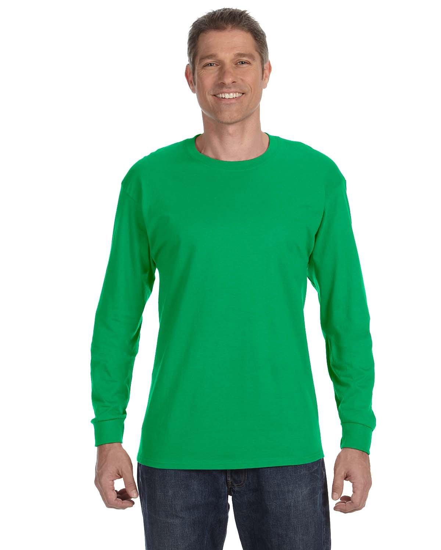 Jerzees Adult DRI-POWER® ACTIVE Long-Sleeve T-Shirt KELLY