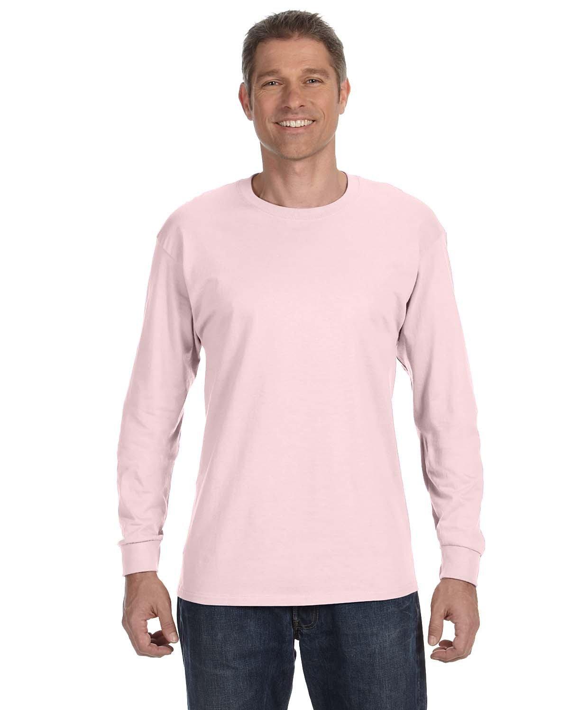 Jerzees Adult DRI-POWER® ACTIVE Long-Sleeve T-Shirt CLASSIC PINK