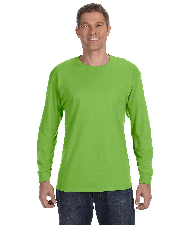 Jerzees Adult DRI-POWER® ACTIVE Long-Sleeve T-Shirt KIWI