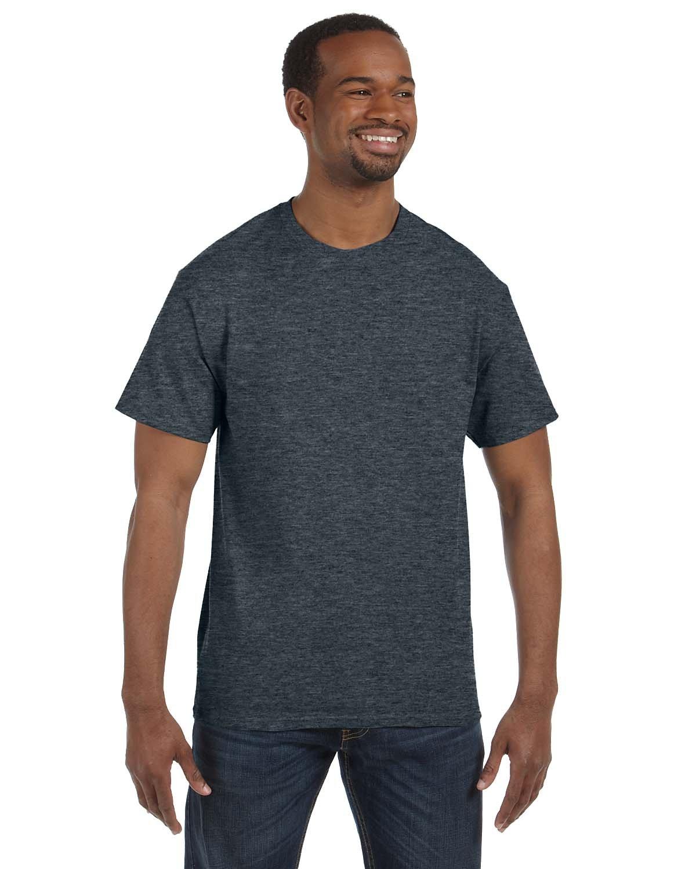 Jerzees Adult DRI-POWER® ACTIVE T-Shirt BLACK HEATHER