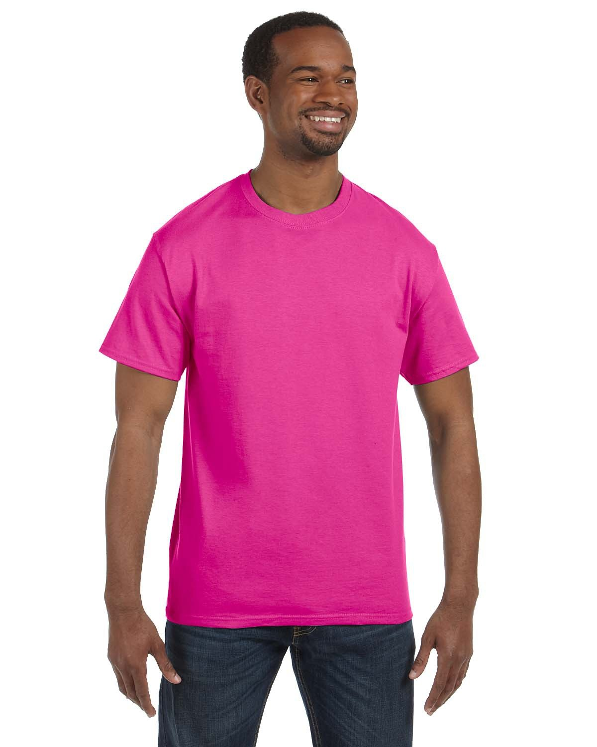 Jerzees Adult DRI-POWER® ACTIVE T-Shirt CYBER PINK