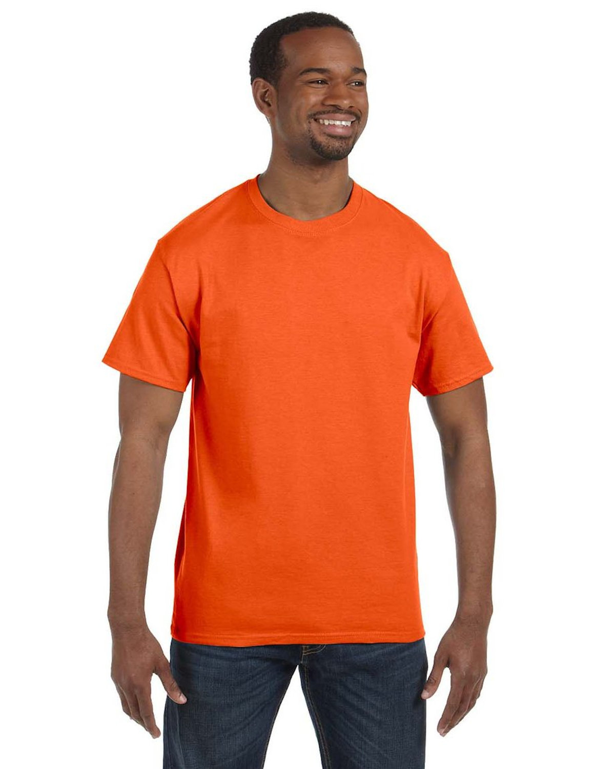 Jerzees Adult DRI-POWER® ACTIVE T-Shirt SAFETY ORANGE