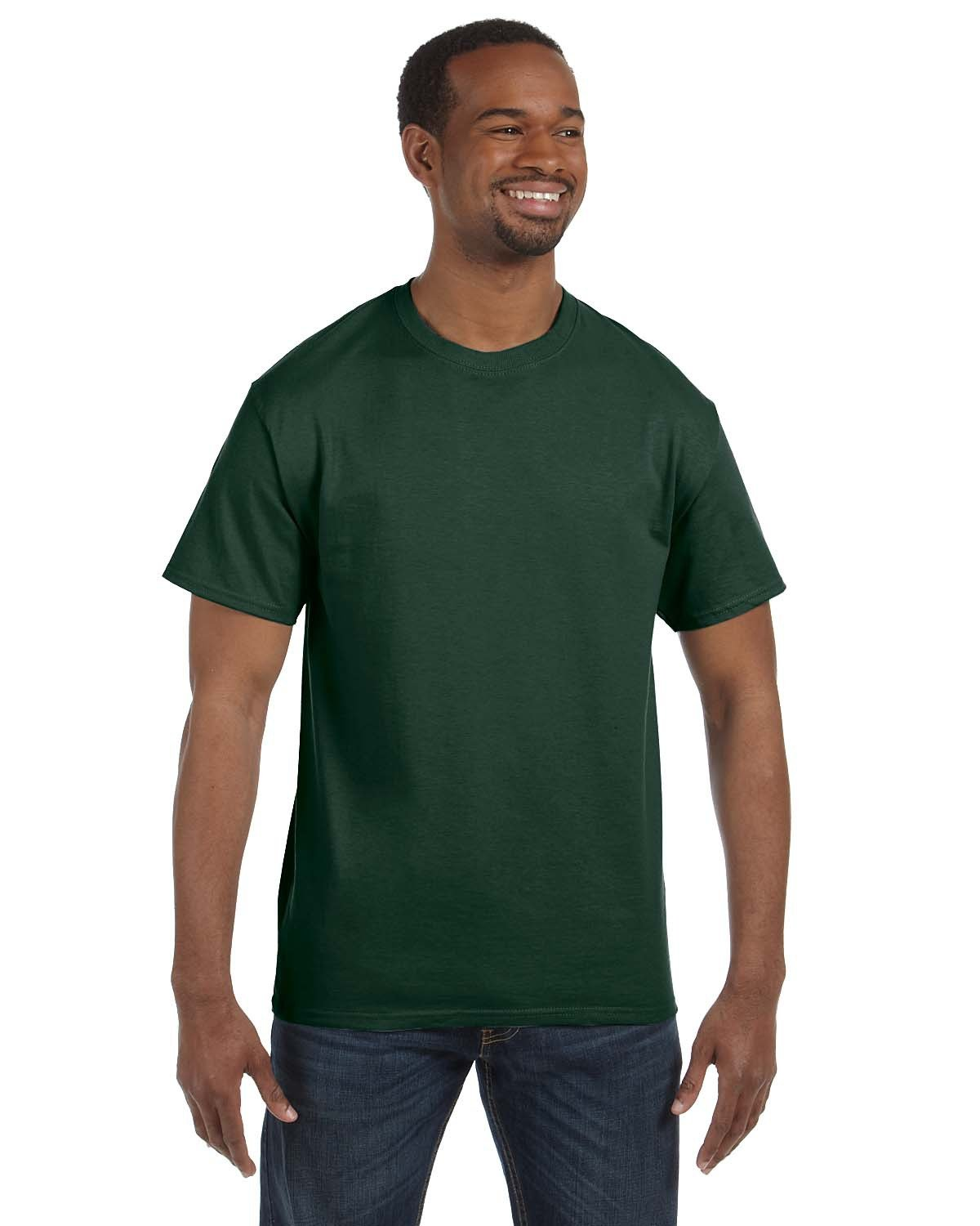 Jerzees Adult DRI-POWER® ACTIVE T-Shirt FOREST GREEN