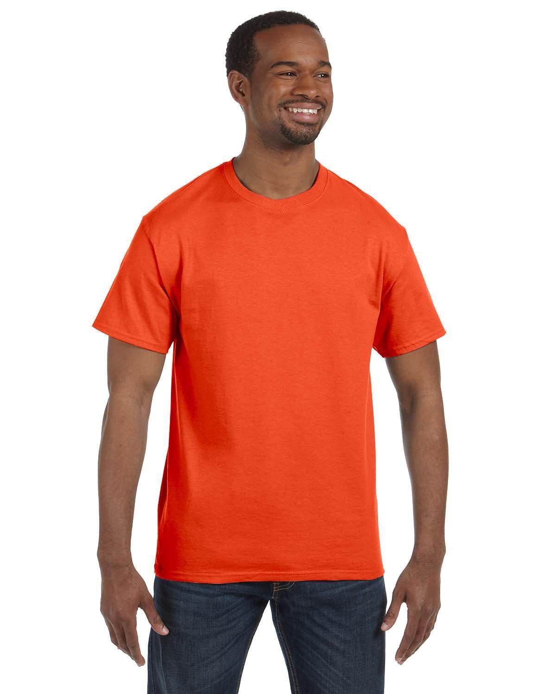 Jerzees Adult DRI-POWER® ACTIVE T-Shirt BURNT ORANGE