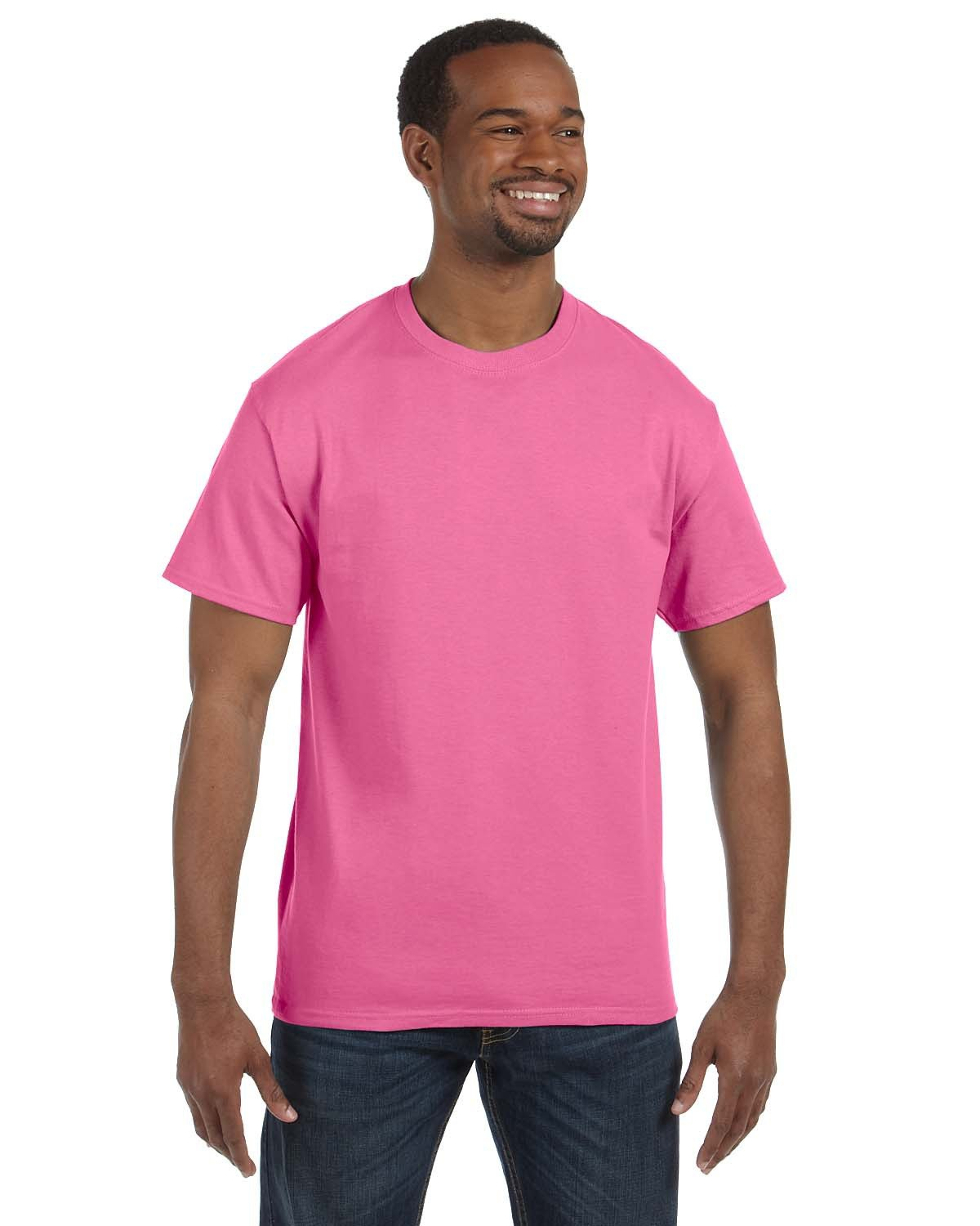 Jerzees Adult DRI-POWER® ACTIVE T-Shirt NEON PINK