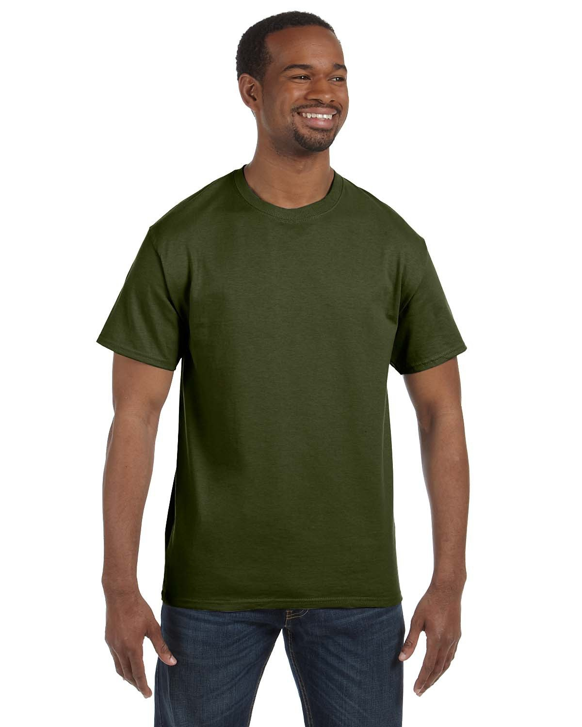 Jerzees Adult DRI-POWER® ACTIVE T-Shirt MILITARY GREEN