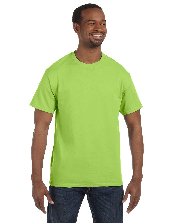 Jerzees Adult DRI-POWER® ACTIVE T-Shirt NEON GREEN