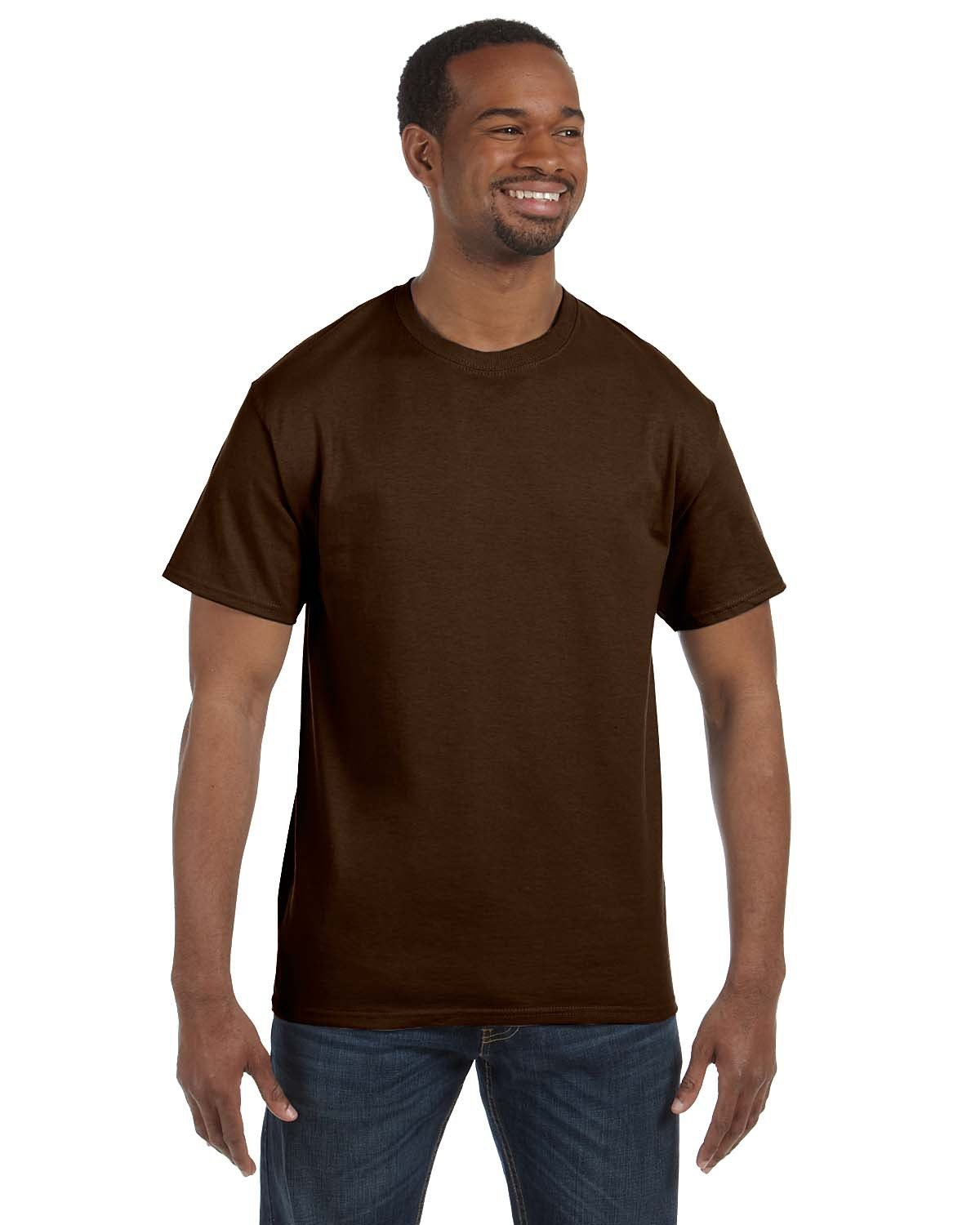 Jerzees Adult DRI-POWER® ACTIVE T-Shirt CHOCOLATE