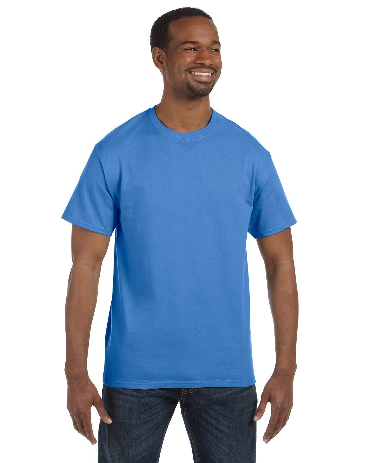 Jerzees Adult DRI-POWER® ACTIVE T-Shirt COLUMBIA BLUE