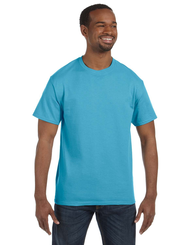 Jerzees Adult DRI-POWER® ACTIVE T-Shirt AQUATIC BLUE