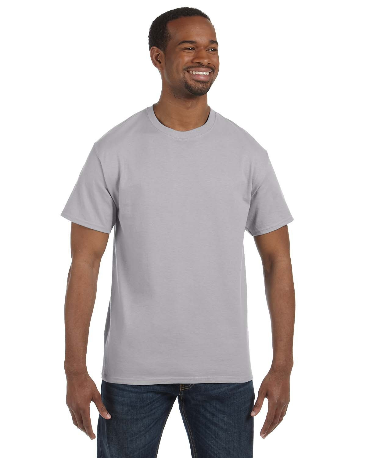 Jerzees Adult DRI-POWER® ACTIVE T-Shirt SILVER