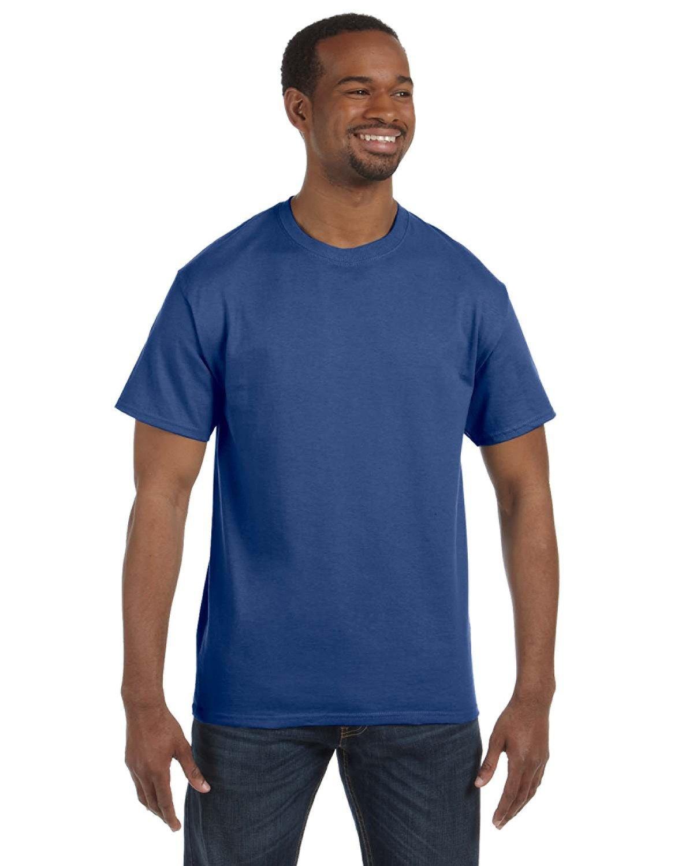 Jerzees Adult DRI-POWER® ACTIVE T-Shirt VINTAGE HTH BLUE