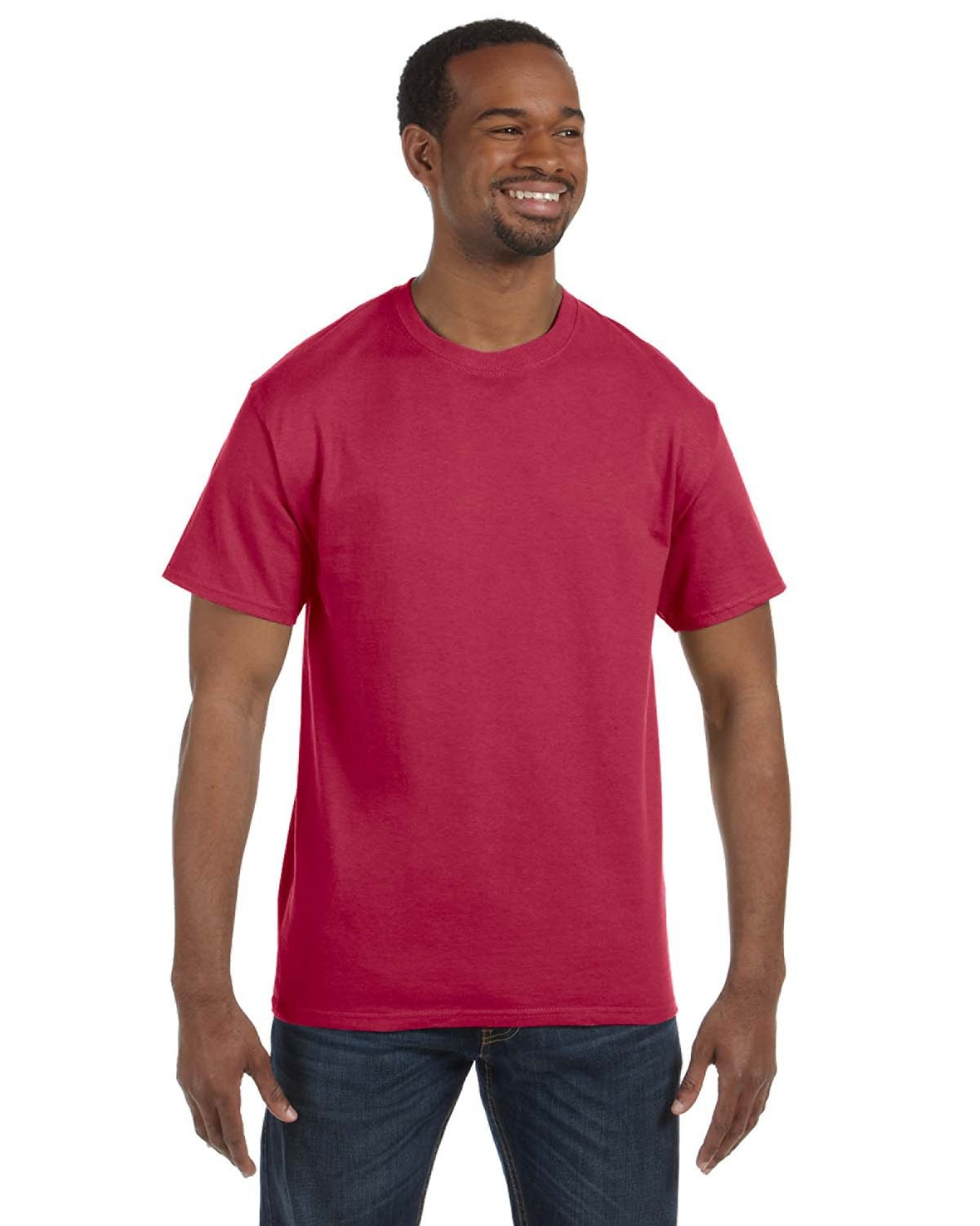 Jerzees Adult DRI-POWER® ACTIVE T-Shirt VINTAGE HTH RED