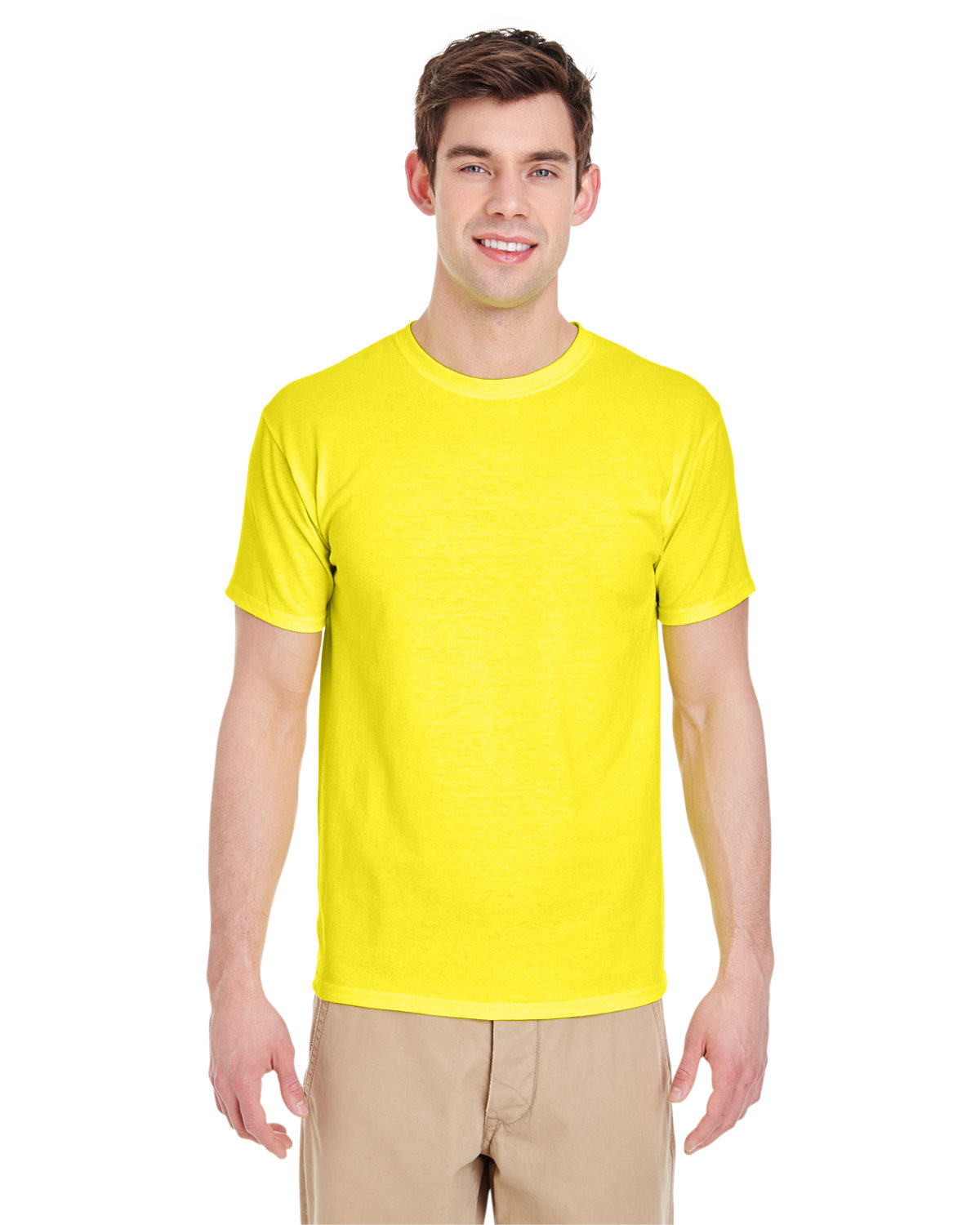 Jerzees Adult DRI-POWER® ACTIVE T-Shirt NEON YELLOW