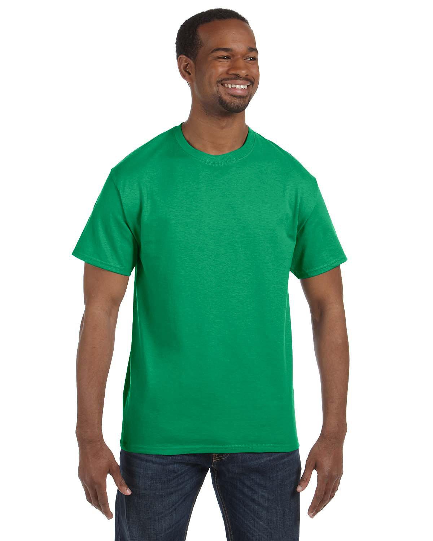 Jerzees Adult DRI-POWER® ACTIVE T-Shirt IRISH GREEN HTHR