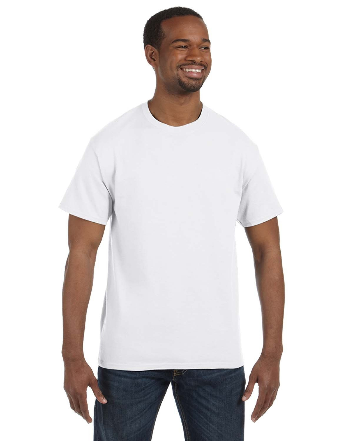 Jerzees Adult Tall DRI-POWER® ACTIVE T-Shirt WHITE