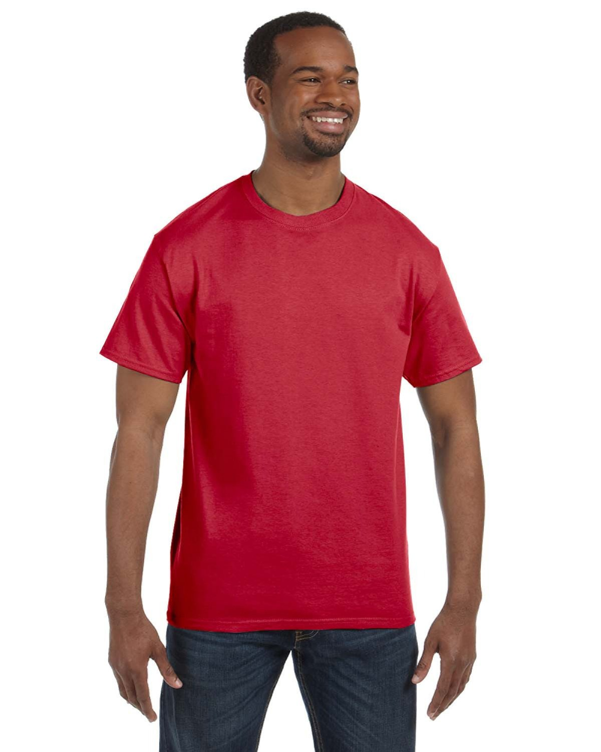 Jerzees Adult Tall  DRI-POWER® ACTIVE T-Shirt TRUE RED
