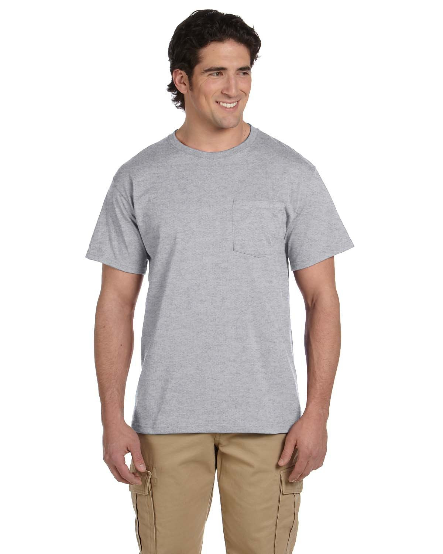 Jerzees Adult DRI-POWER® ACTIVE Pocket T-Shirt OXFORD