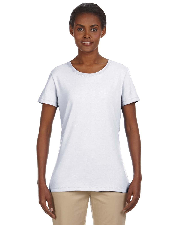 Jerzees Ladies' DRI-POWER® ACTIVE T-Shirt WHITE
