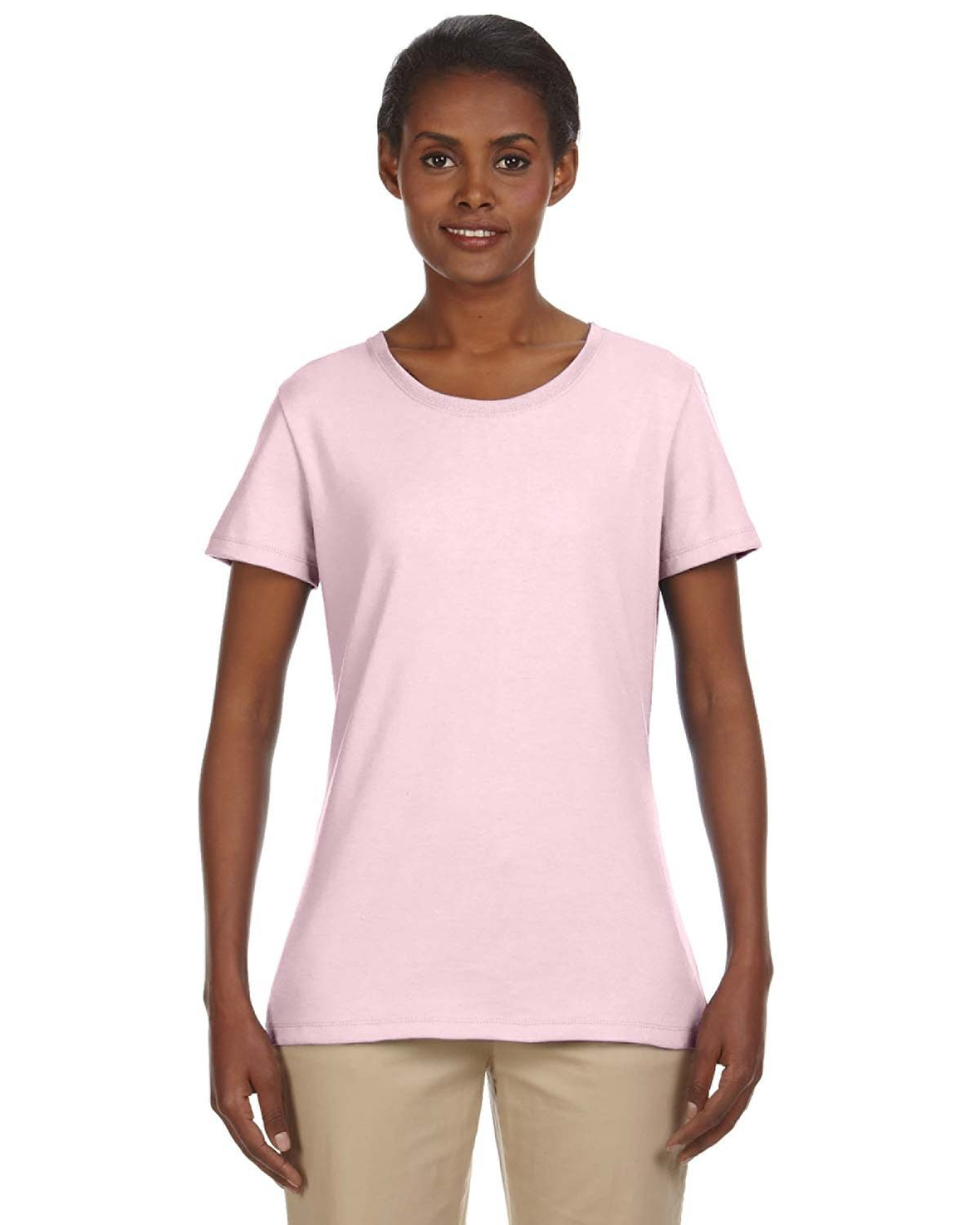 Jerzees Ladies' DRI-POWER® ACTIVE T-Shirt CLASSIC PINK