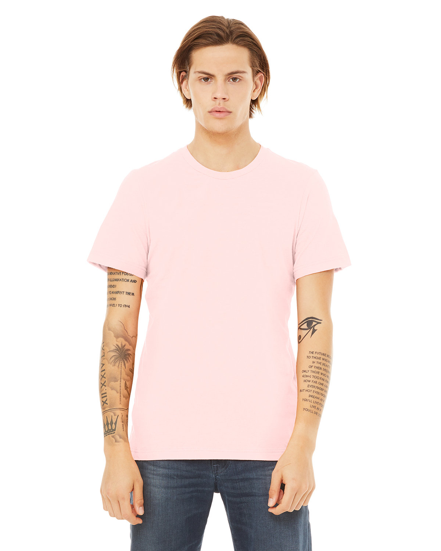 Bella + Canvas Unisex Jersey T-Shirt SOFT PINK