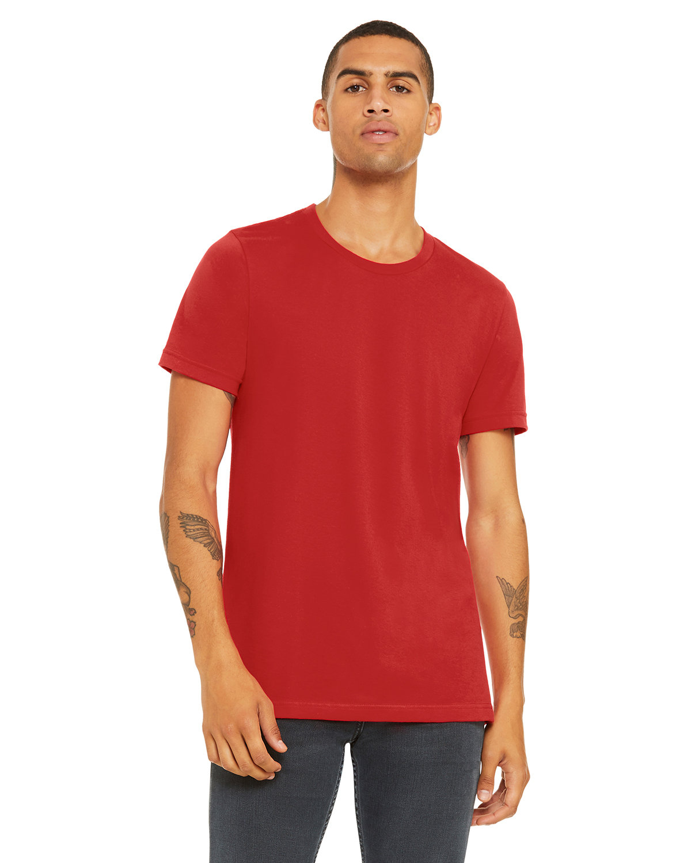 Bella + Canvas Unisex Jersey T-Shirt RED