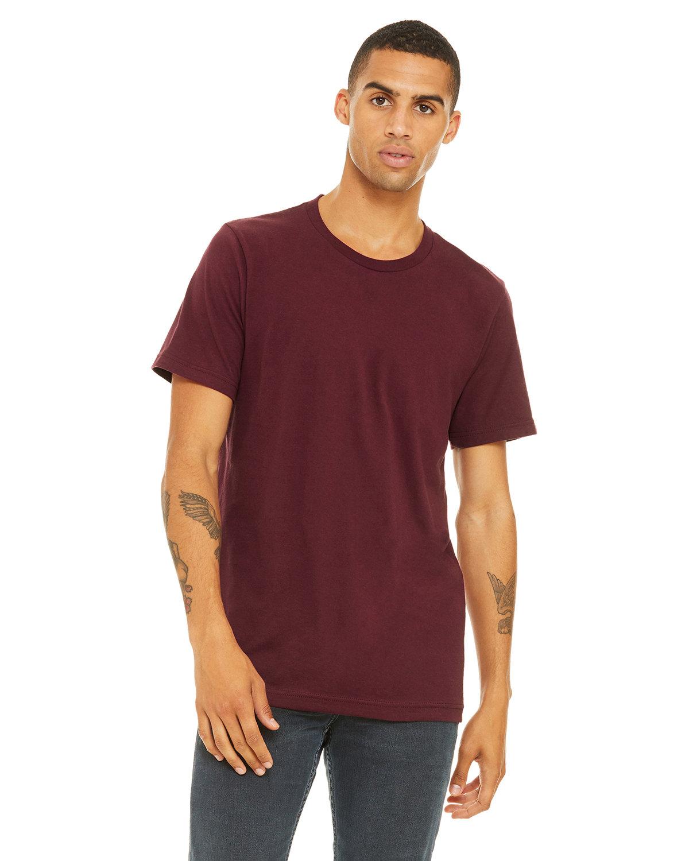 Bella + Canvas Unisex Jersey T-Shirt MAROON