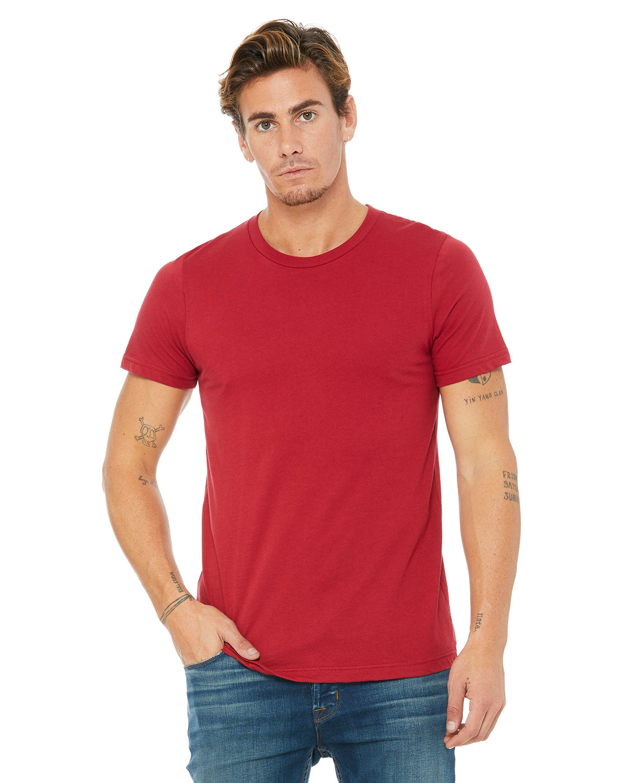 Bella + Canvas Unisex Jersey T-Shirt CANVAS RED