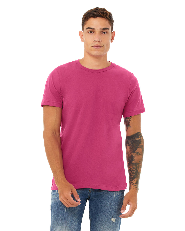 Bella + Canvas Unisex Jersey T-Shirt BERRY