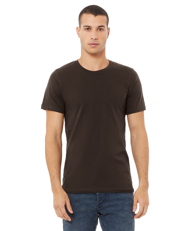 Bella + Canvas Unisex Jersey T-Shirt BROWN