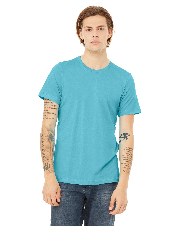 Bella + Canvas Unisex Jersey T-Shirt TURQUOISE