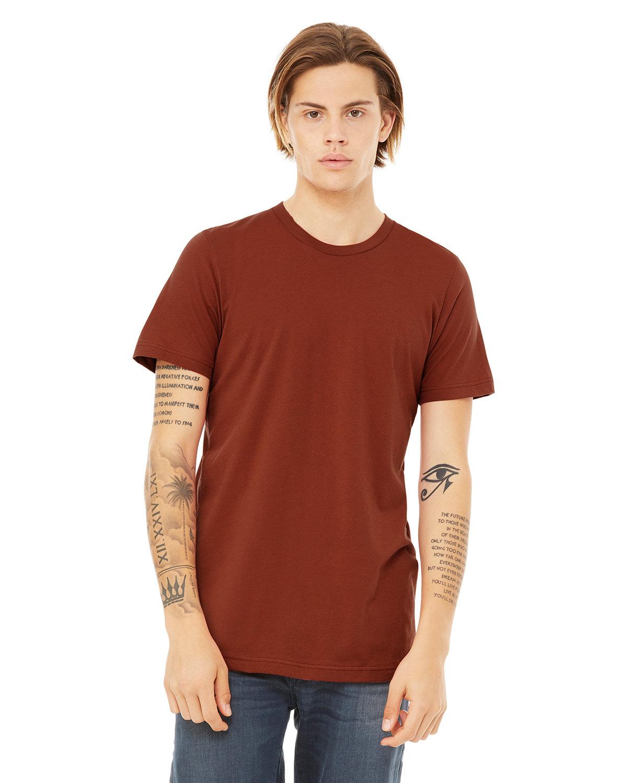 Bella + Canvas Unisex Jersey T-Shirt RUST