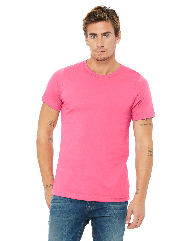 Bella + Canvas Unisex Jersey T-Shirt CHARITY PINK