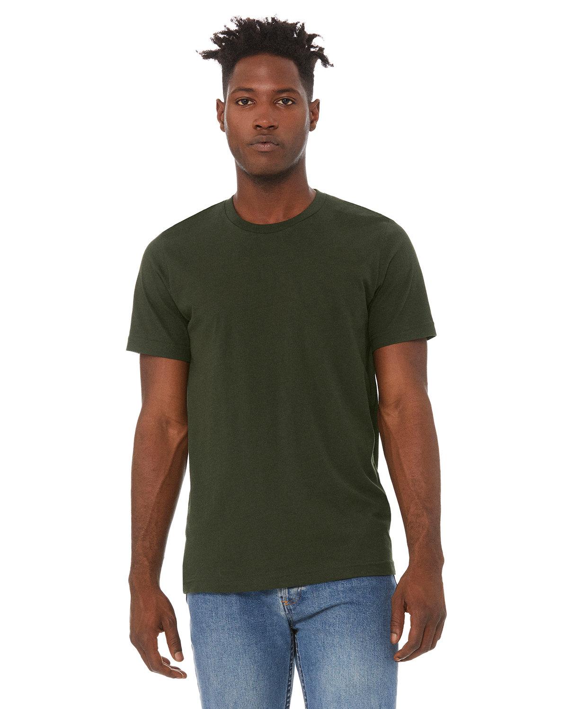 Bella + Canvas Unisex Jersey T-Shirt DARK OLIVE