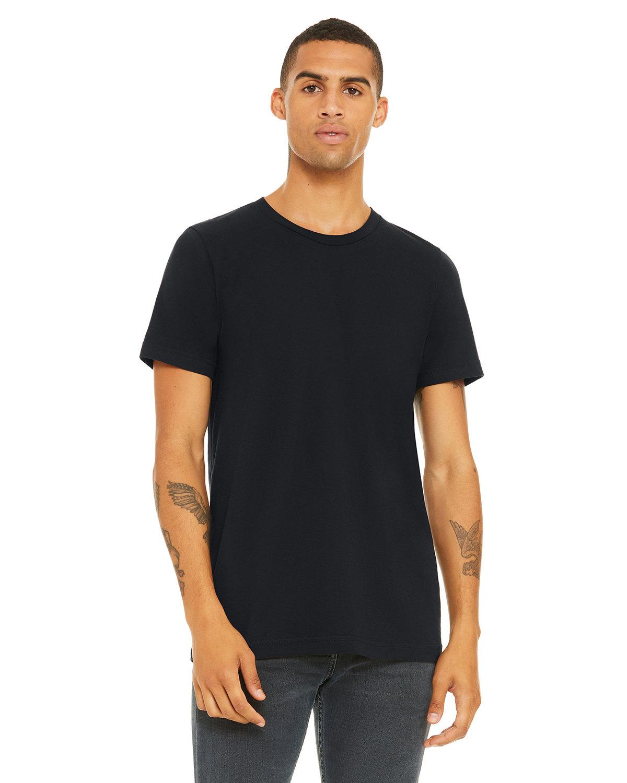 Bella + Canvas Unisex Jersey T-Shirt VINTAGE BLACK
