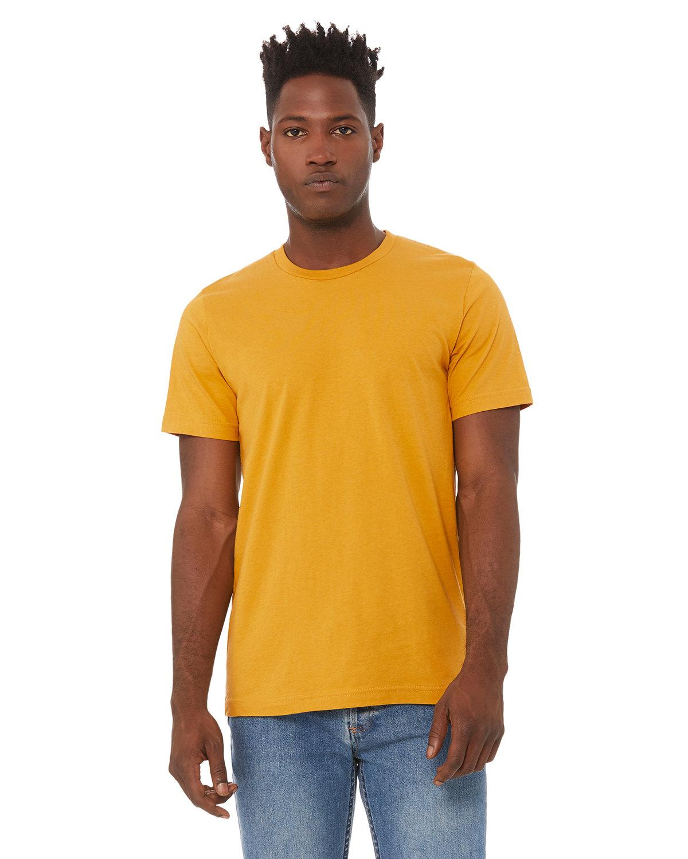 Bella + Canvas Unisex Jersey T-Shirt MUSTARD