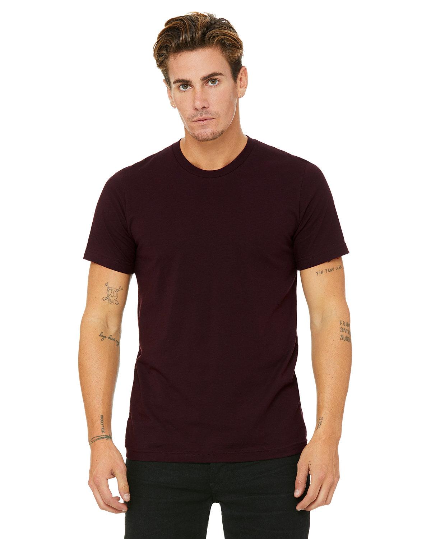 Bella + Canvas Unisex Jersey T-Shirt OXBLOOD BLACK