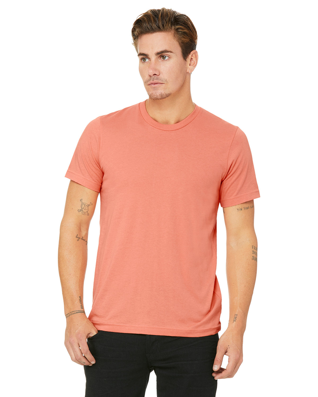 Bella + Canvas Unisex Jersey T-Shirt SUNSET