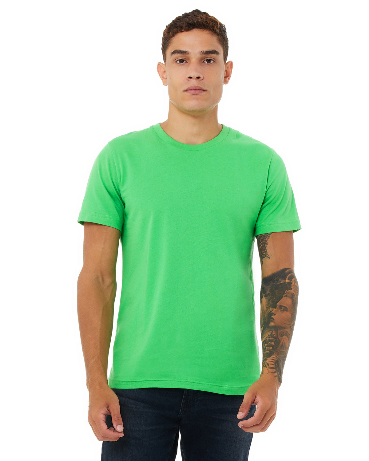 Bella + Canvas Unisex Jersey T-Shirt SYNTHETIC GREEN