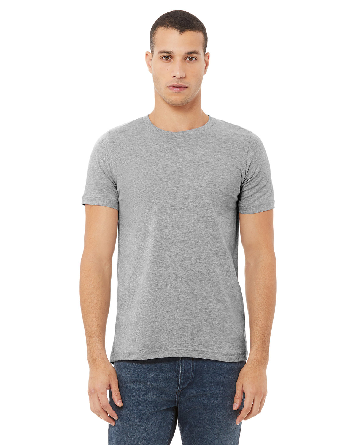 Bella + Canvas Unisex Heather CVC T-Shirt ATHLETIC HEATHER