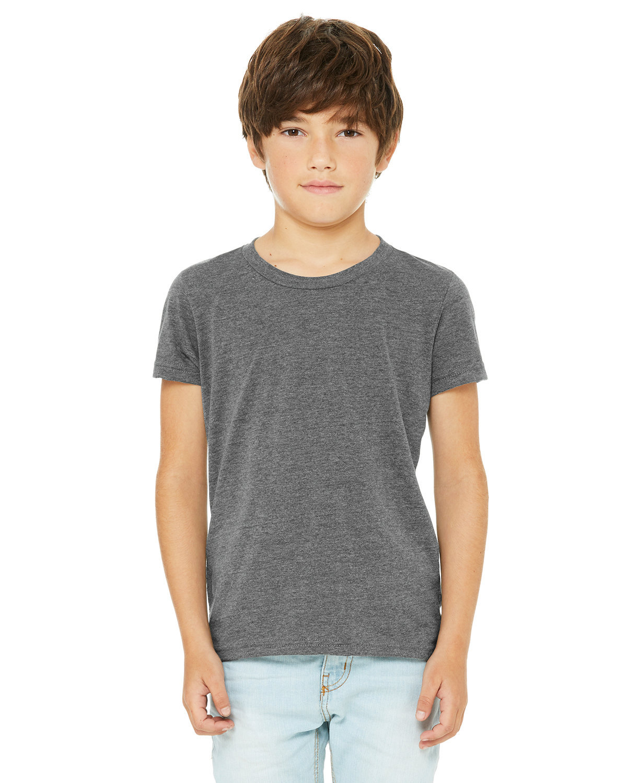 Bella + Canvas Youth Jersey T-Shirt DEEP HEATHER