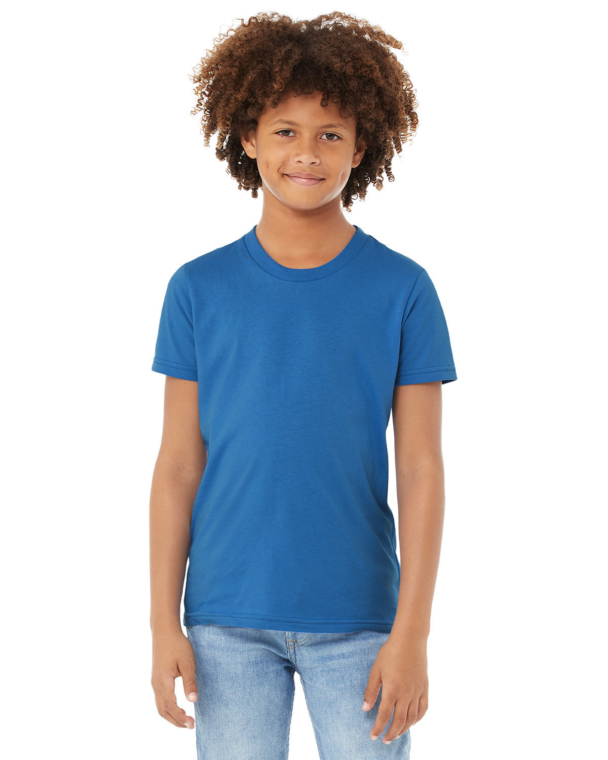 Bella + Canvas Youth Jersey T-Shirt COLUMBIA BLUE