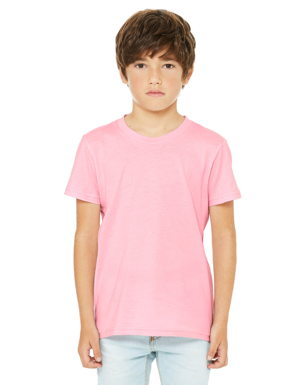 Bella + Canvas Youth Jersey T-Shirt PINK