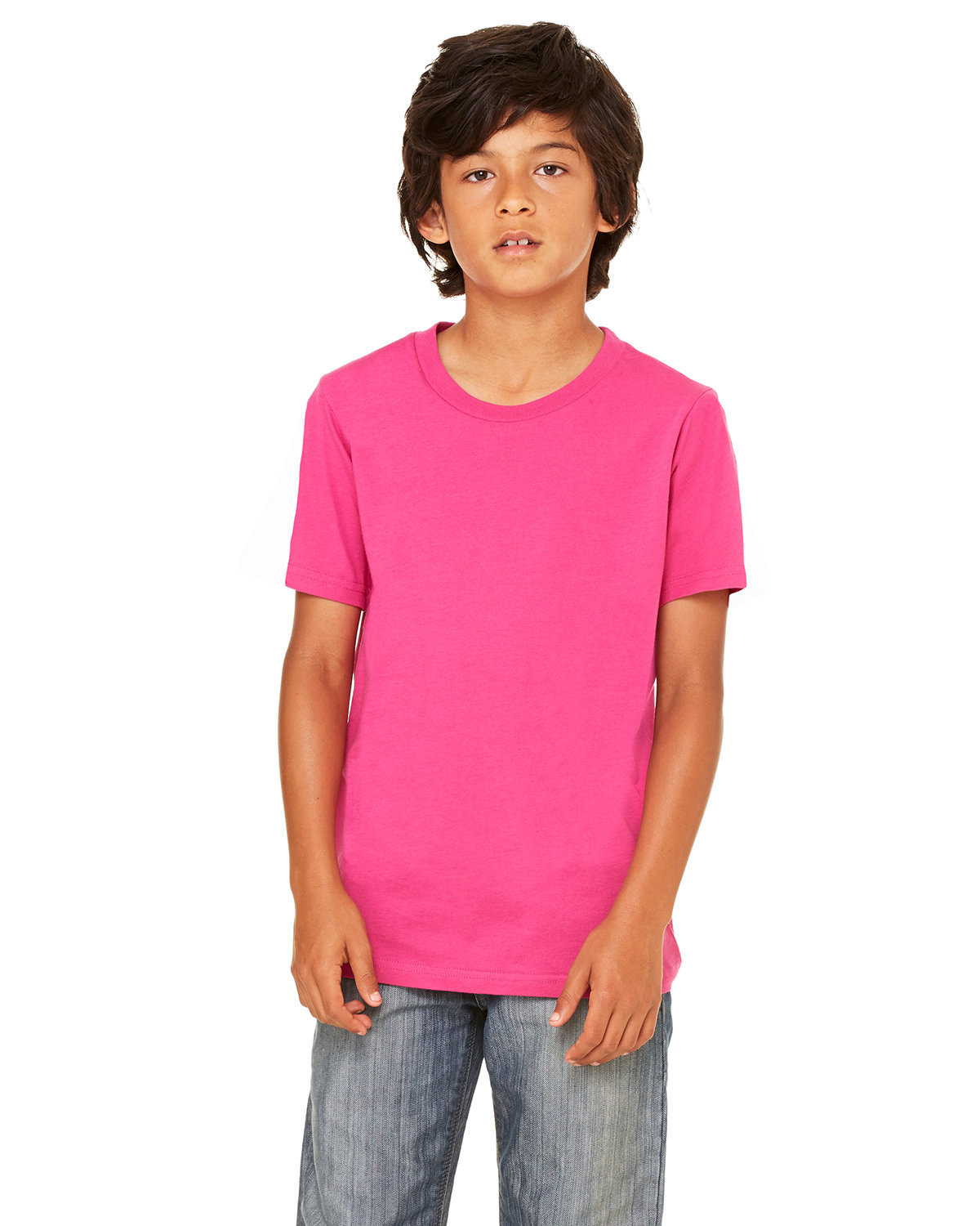 Bella + Canvas Youth Jersey T-Shirt BERRY