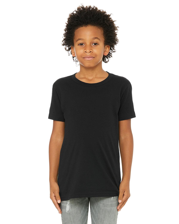 Bella + Canvas Youth Jersey T-Shirt BLACK