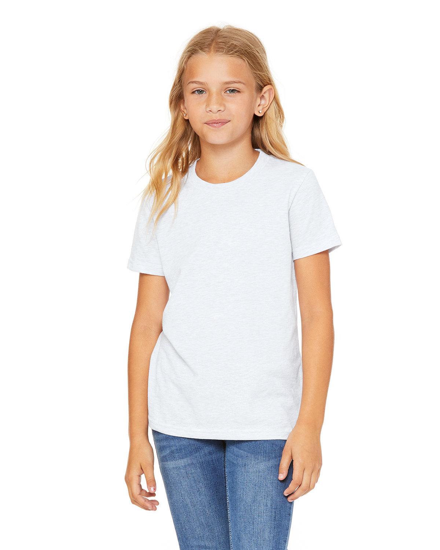 Bella + Canvas Youth Jersey T-Shirt ASH
