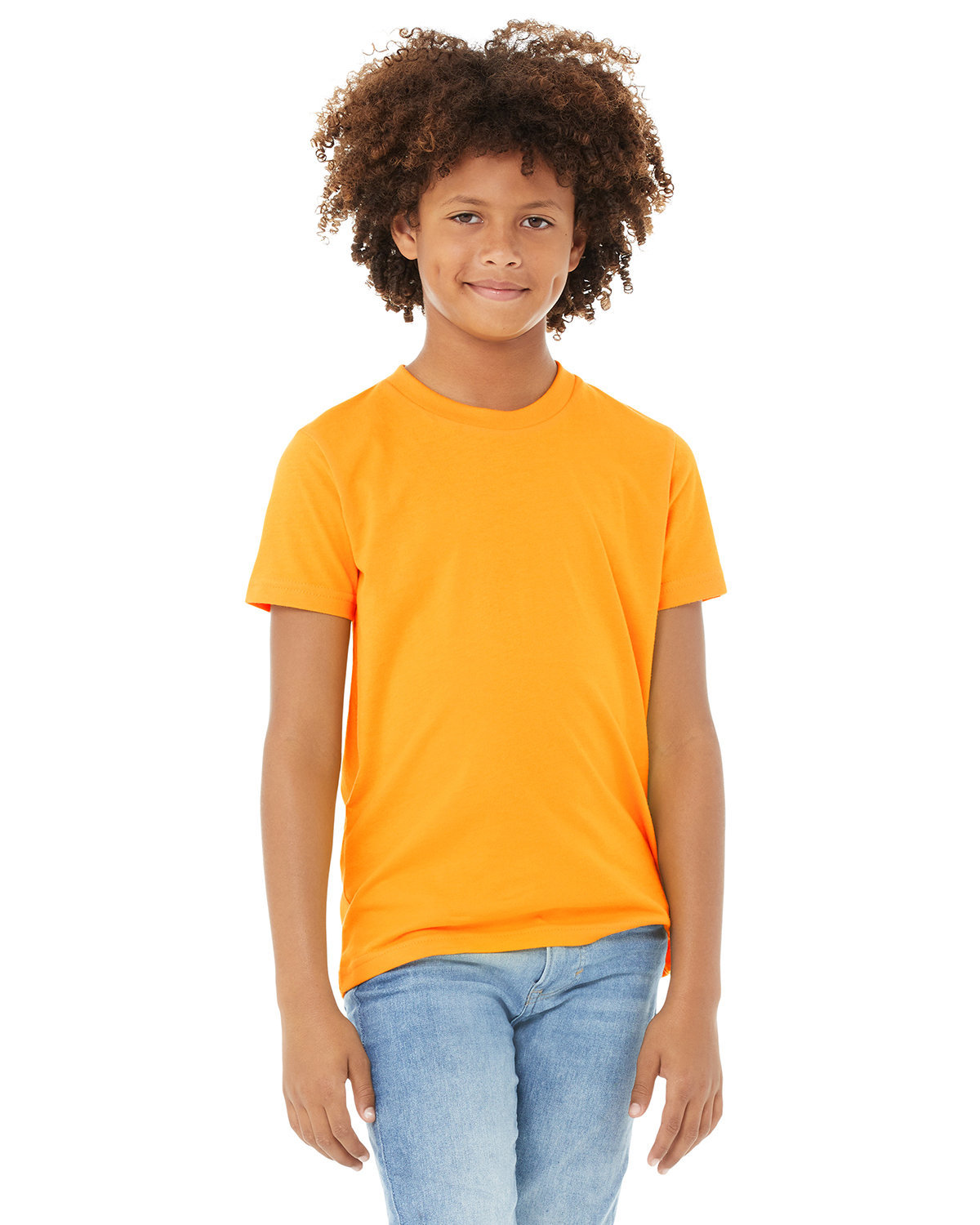 Bella + Canvas Youth Jersey T-Shirt GOLD