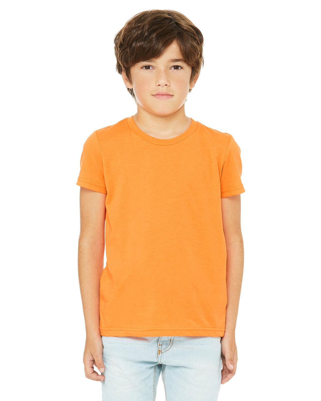 Bella + Canvas Youth Jersey T-Shirt NEON ORANGE