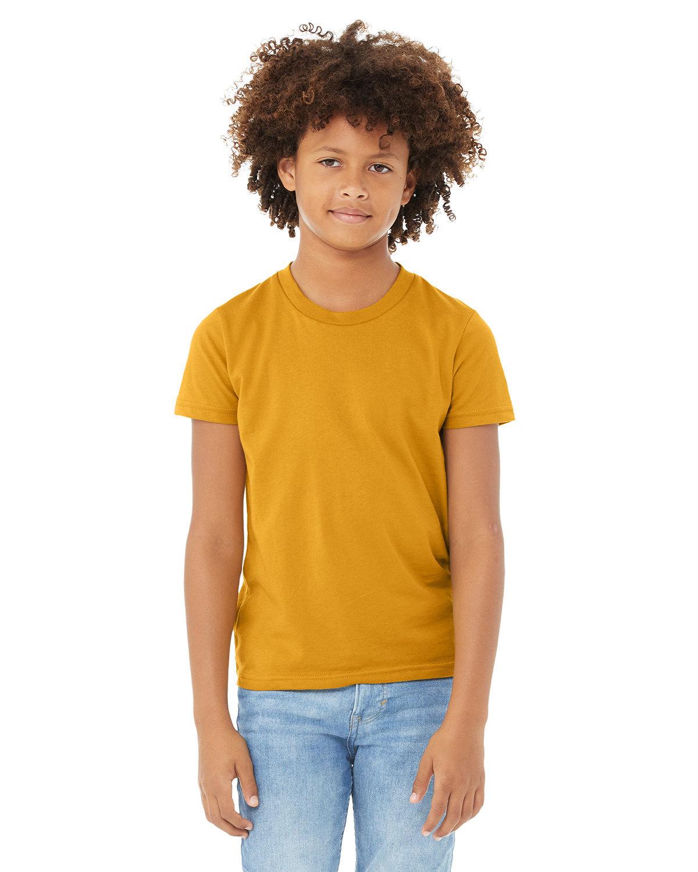 Bella + Canvas Youth Jersey T-Shirt MUSTARD