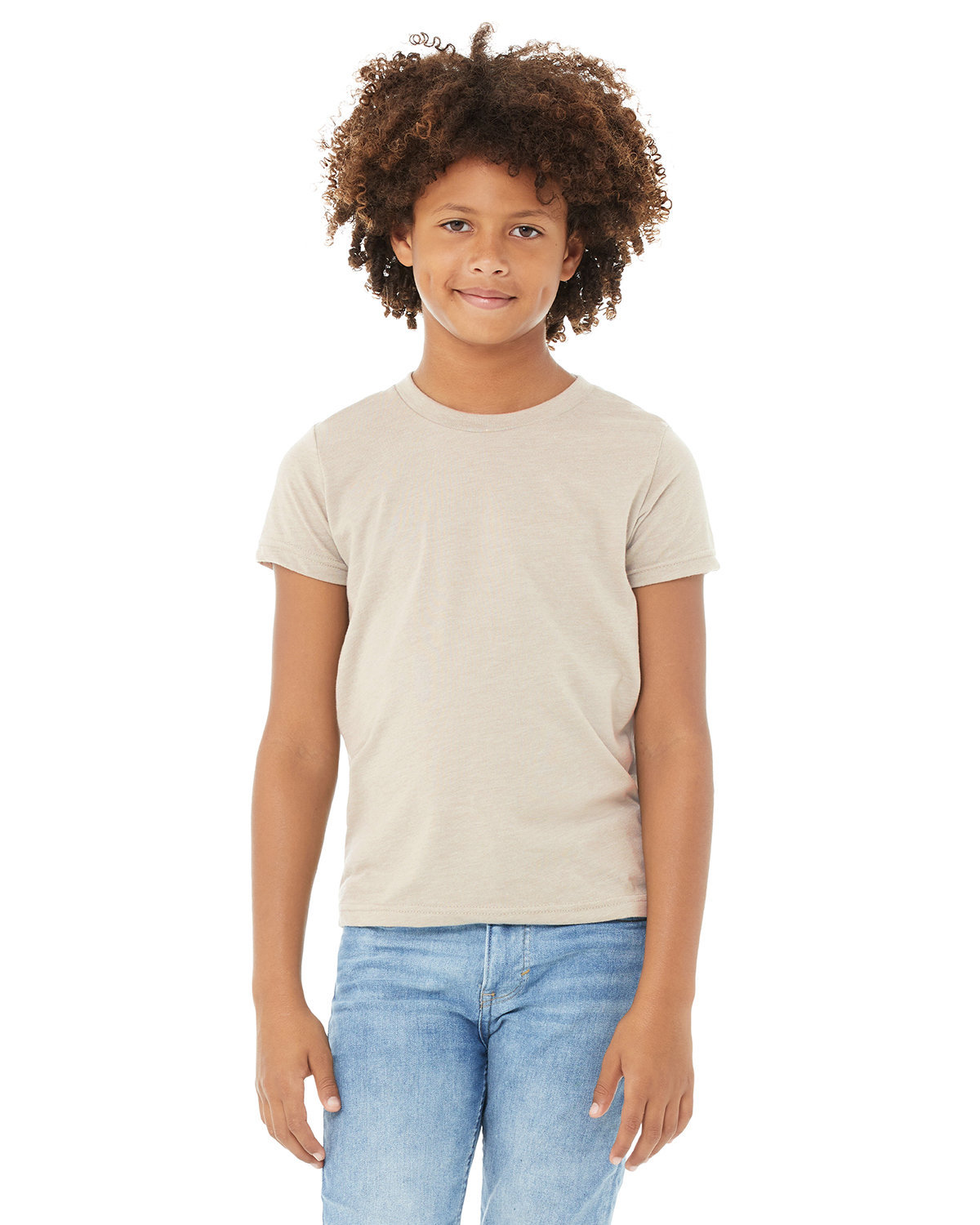 Bella + Canvas Youth Jersey T-Shirt HEATHER DUST